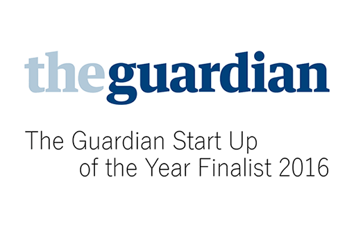 The Guardian Start Up of the Year Finalist 2016