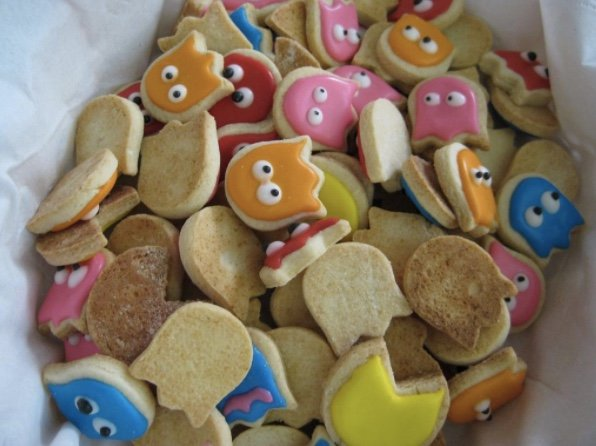 Mmmmm…. Delicious Ghosts….