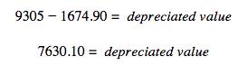 depreciation value HMRC self-employed capital allowances