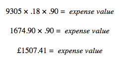 expenses equation HMRC self-employed capital allowances