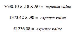 expenses value hmrc self employed capital allowances